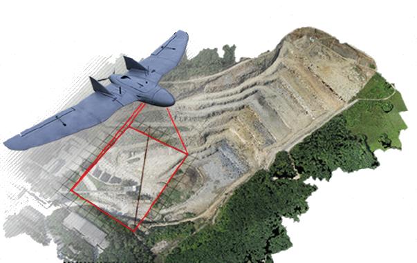 fotogrammetria da drone
