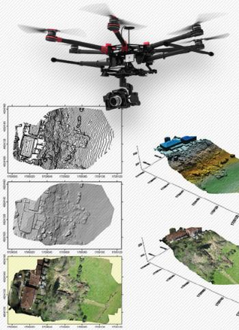 drone per rilievi