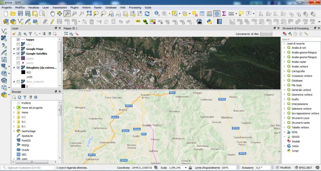 interfaccia layout qgis 3.0