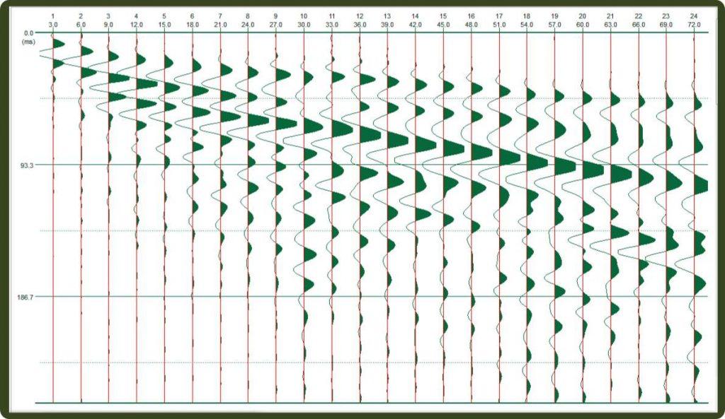 acquisizione indagine sismica a rifrazione